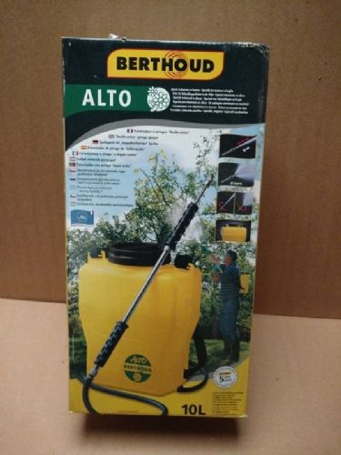"Berthoud Alto  ""Double action"" syringe sprayer"